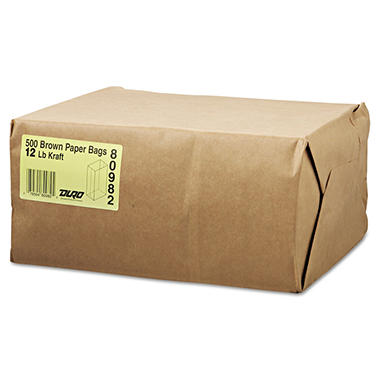 #12 Natural Paper Bag - 500 ct.