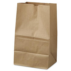 #20 Squat Natural Paper Bags (500 ct.)