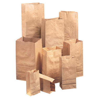 #2 Natural Paper Bag, 500 ct.