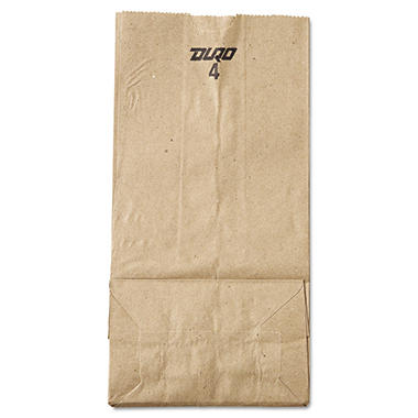 #4 Natural Paper Bag, 500 ct.