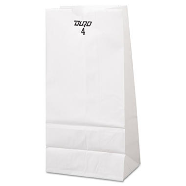 #4 White Paper Bag - 500 ct.