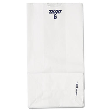 #6 White Paper Bag - 500 ct.