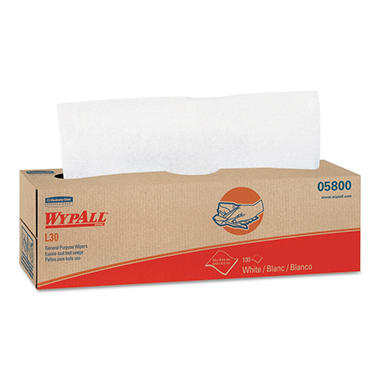 WypAll L30 Wipers - 8 boxes - 100 wipers each