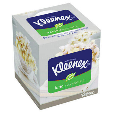 Kleenex Pop-Up Lotion Facial Tissue - 27 boxes - 80 ct. each
