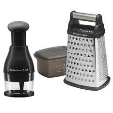 KitchenAid Food Chopper and Box Grater Set