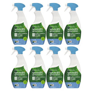 Seventh Generation Natural Glass & Surface Cleaner, Free & Clear (32oz., 8ct.)