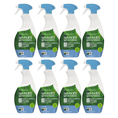 Seventh Generation Glass & Surface Cleaner - 32 oz. - 8 ct.