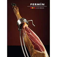 Fermin 100% Iberico Dry Cured Ham, Bone-In, 36 Month (16-17 lb.)
