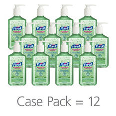 Purell Instant Hand Sanitizer with Aloe - 12 oz. Pump Bottle - 12 pk.