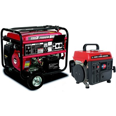 Gentron 7500 Watt Portable Gas Generator Bundle