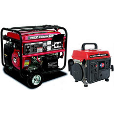 Gentron 7500W / All Power 1000W Generator Bundle