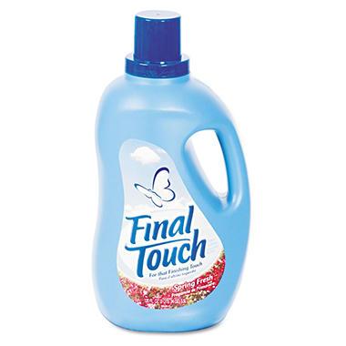 Final Touch Ultra Liquid Fabric Softener - 120 oz.