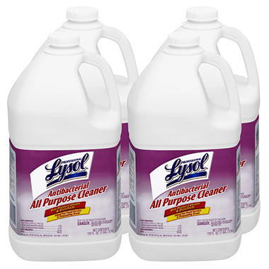 Lysol Antibacterial All-Purpose Cleaner - 1 gal. - 4 pk.