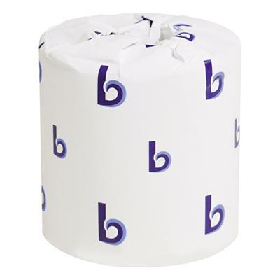 Boardwalk - Economy Bath Tissue, 2-Ply, 500 Sheets - 96 Rolls