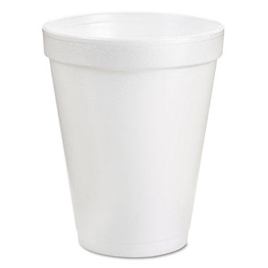 Dart - Hot and Cold Foam Cups, 10 oz - 1,000 Cups