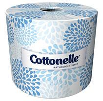 Kleenex - Cottonelle Bath Tissue, 1-Ply, 451 Sheets - 60 Rolls