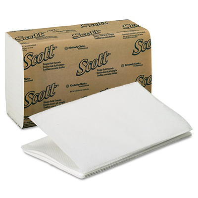 Scott Singlefold Paper Towels - 4,000 ct.