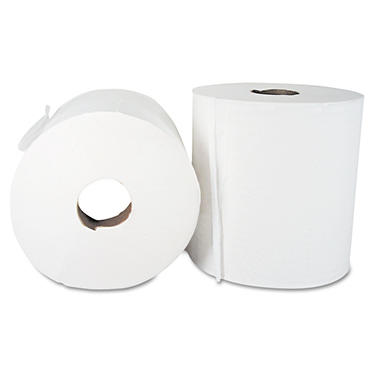 Boardwalk - Economy Center Pull Paper Towels, 2-Ply, 600 Sheets - 6 Rolls
