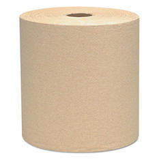 Kimberly-Clark Professional* - SCOTT Hard Roll Towels, 8 x 800ft, Natural -  12 Rolls/Carton