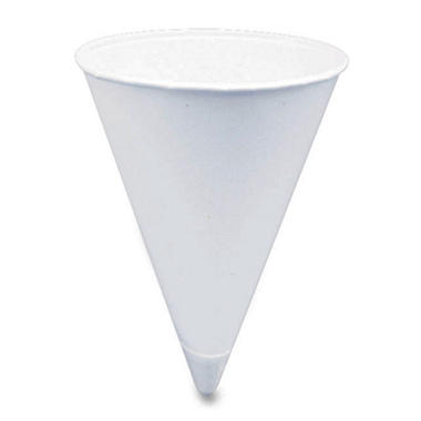 Solo - Disposable Cone Cups, 4 oz - 5,000 Cups