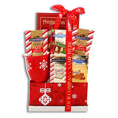 Ghirardelli Chocolate Holiday Sampler with Custom Printed Ribbon