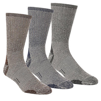 Omniwool Merino Wool Medium Weight Hiker Socks (3 pairs)