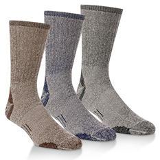 Omniwool Merino Wool Lightweight Hiker Socks (3 pairs)