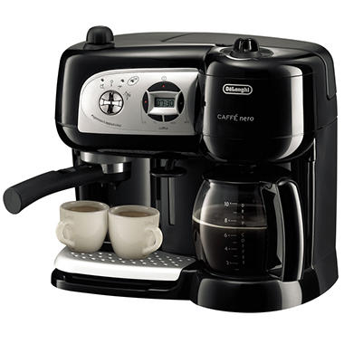 De'Longhi 3-n-1 Combination Drip Coffee, Espresso, Cappuccino Machine