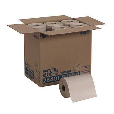 Georgia Pacific - Envision, Roll Paper Towels, 350 Ft. Rolls - 12 Rolls