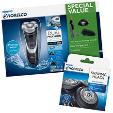 Philips Norelco Shaver 4300 with SH50/52 Replacement Head
