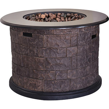 Member S Mark Annadel 24 Quot Gas Fire Table Sam S Club
