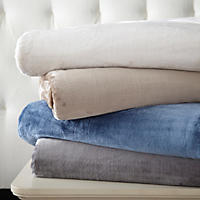 Lenox Plush Blanket (Assorted Sizes and Colors)
