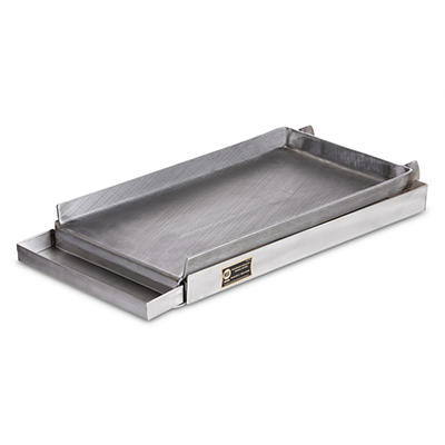 Two Burner Griddle + Grease Tray