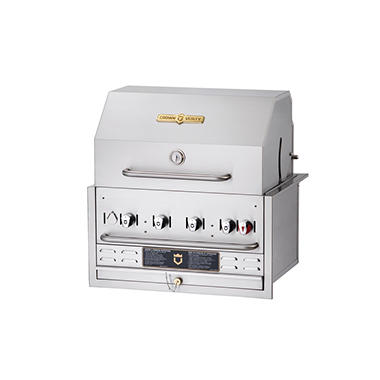 "Crown Verity 30"" Built-in Gas Grill"