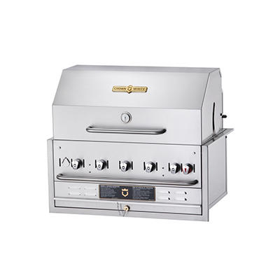 "Crown Verity 36"" Built-in Gas Grill"