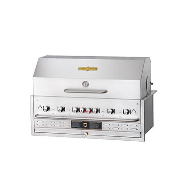 "Elite Package Crown Verity 48"" Built-in Gas Grill"