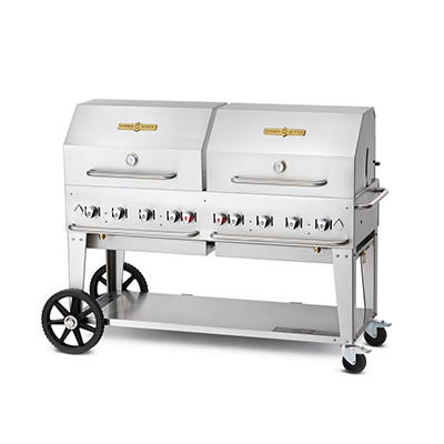 "Elite Package 60"" Stainless Steel Propane Gas Grill"
