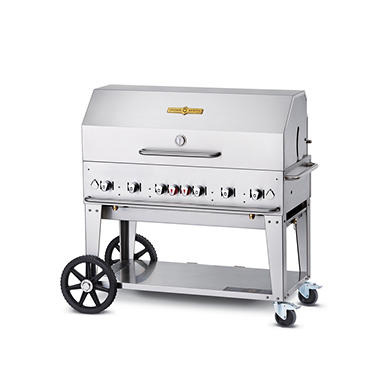 "48"" Stainless Steel Propane Gas Grill"