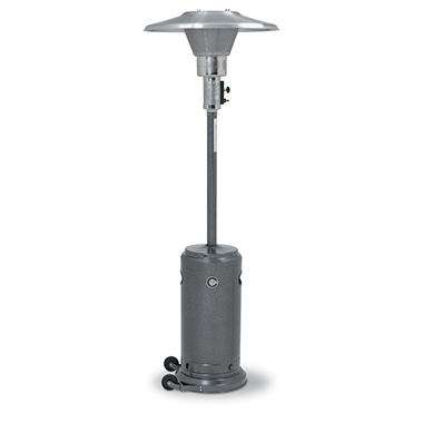 Silver Veined Outdoor Patio Heater