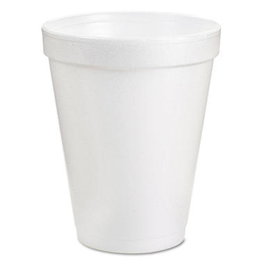Dart - Hot and Cold Foam Cups, 8 oz - 1,000 Cups