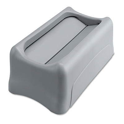 Rubbermaid Slim Jim Untouchable Top - Gray