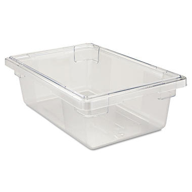 Rubbermaid Commercial Food/Tote Boxes, Clear