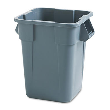Rubbermaid Square Trash Can - 40 gal.