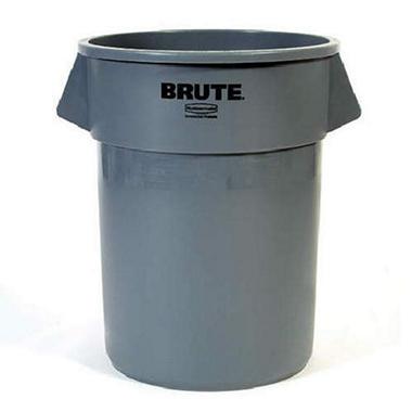 Rubbermaid Brute Trash Can - Gray - 32 gal.