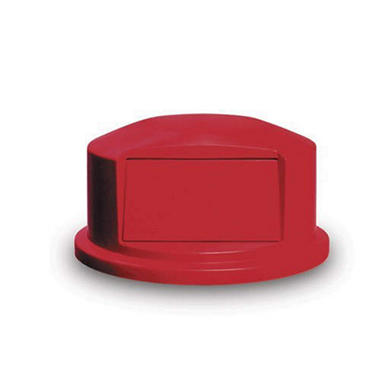 Rubbermaid Dome Top for Brute 44 gal. Round Trash Can - Red