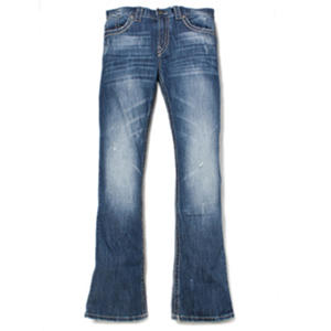AXEL Vintage Boot Cut Fit Medium Wash Fashion Denim Jeans