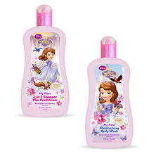 Sofia the First Bathwash and Shampoo/Conditioner Bundle