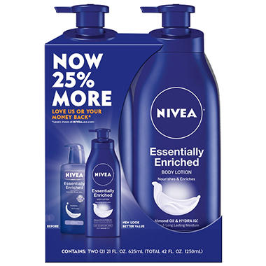 Nivea® Essentially Enriched Twin Pack Regimen