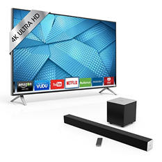 "VIZIO 49"" Class 4K Ultra HD LED Smart TV - M49-C1 w/ 38"" VIZIO 2.1 Soundbar and Wireless Subwoofer"