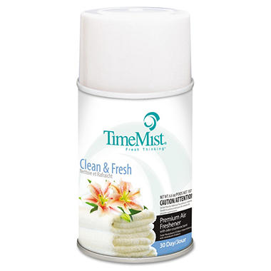 TimeMist Metered Aerosol Dispenser Refill - Clean & Fresh